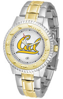 California Berkeley Golden Bears Competitor 2-Tone 23k Gold Stainless Steel Watch (Men's or Women's)