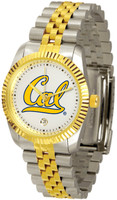 California Berkeley Golden Bears Executive  2-Tone 23k Gold Stainless Steel Watch (Men's or Women's)