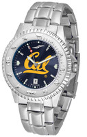 California Berkeley Golden Bears Competitor Stainless Steel AnoChrome Watch (Men's or Women's)