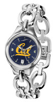 California Berkeley Golden Bears Ladies Silver Eclipse AnoChrome Watch