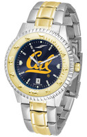 California Berkeley Golden Bears Competitor 2-Tone 23k Gold AnoChrome Stainless Steel Watch (Men's or Women's)