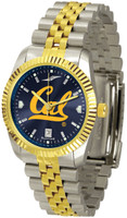 California Berkeley Golden Bears Executive  2-Tone 23k Gold AnoChrome Stainless Steel Watch (Men's or Women's)
