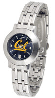 California Berkeley Golden Bears Ladies Silver Stainless Steel Dynasty AnoChrome Watch