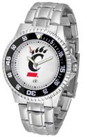Cincinnati Bearcats Competitor Stainless Steel Watch (Men's or Women's)