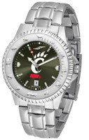 Cincinnati Bearcats Competitor Stainless Steel AnoChrome Watch (Men's or Women's)