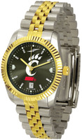 Cincinnati Bearcats Executive  2-Tone 23k Gold AnoChrome Stainless Steel Watch (Men's or Women's)