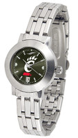 Cincinnati Bearcats Ladies Silver Stainless Steel Dynasty AnoChrome Watch