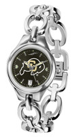 Colorado Buffaloes Ladies Silver Eclipse AnoChrome Watch