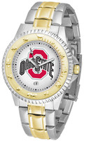*Ohio State Buckeyes 2014 National Champions Competitor 2-Tone 23k Gold Stainless Steel Watch (Men's or Women's)