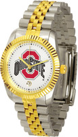 *Ohio State Buckeyes Executive  2-Tone 23k Gold Stainless Steel Watch (Men's or Women's)