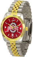 Ohio State Buckeyes Executive  2-Tone 23k Gold AnoChrome Stainless Steel Watch (Men's or Women's)