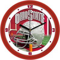 *Ohio State Buckeyes 12 Inch Round Wall Clock