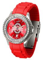 Ohio State Buckeyes Sparkle AnoChrome Sport  Watch