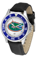 Florida Gators Competitor Leather Watch White Dial (Men's or Women's)