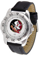 Florida State Seminoles Sport Leather Watch White Dial (Men's or Women's)