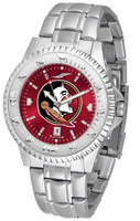 Florida State Seminoles Competitor Stainless Steel AnoChrome - Red Dial (Men's or Women's)