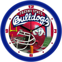 Fresno State Bulldogs 12 Inch Round Wall Clock