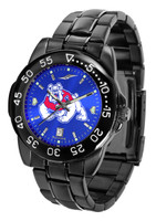 Fresno State Bulldogs Fantom Gunmetal Sport AnoChrome Watch - Color Dial (Men's or Women's)