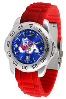Fresno State Bulldogs Sport AC™AnoChrome Watch - Red Silicone Band