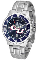 Gonzaga Bulldogs Competitor Stainless Steel AnoChrome - Red Dial (Men's or Women's)