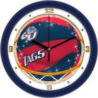 Gonzaga Bulldogs 12 Inch Round Wall Clock