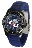 Gonzaga Bulldogs Fantom AC™ Gunmetal Sport AnoChrome Watch - Red Silicone Band