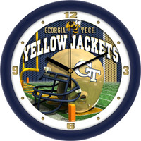 Georgia Tech Yellow Jackets 12 Inch Round Wall Clock