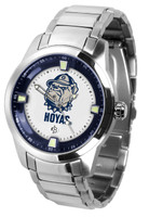 Georgetown Hoyas Titan Stainless Steel Watch