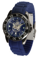 Georgetown Hoyas Fantom AC™ Gunmetal Sport AnoChrome Watch - Red Silicone Band