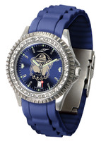 Georgetown Hoyas Sparkle AnoChrome Sport  Watch - Red Silicone Band