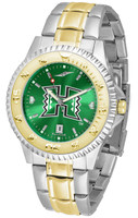 Hawaii Warriors Competitor 2-Tone 23k Gold AnoChrome Stainless Steel Watch - Red Dial (Men's or Women's)