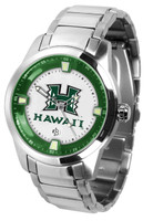 Hawaii Warriors Titan Stainless Steel Watch