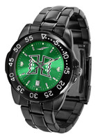 Hawaii Warriors Fantom Gunmetal Sport AnoChrome Watch - Red Dial (Men's or Women's)