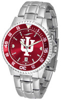 Indiana Hoosiers Competitor Stainless Steel AnoChrome - Red Dial (Men's or Women's)