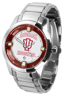 Indiana Hoosiers Titan Stainless Steel Watch