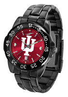 Indiana Hoosiers Fantom Gunmetal Sport AnoChrome Watch - Red Dial (Men's or Women's)