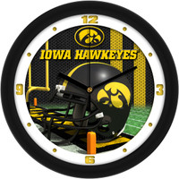 Iowa Hawkeyes 12 Inch Round Wall Clock