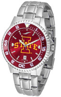 Iowa State Cyclones Competitor Stainless Steel AnoChrome - Red Dial (Men's or Women's)