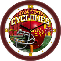 Iowa State Cyclones 12 Inch Round Wall Clock