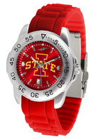 Iowa State Cyclones Sport AC™AnoChrome Watch - Red Silicone Band