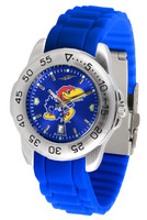 Kansas Jayhawks  Sport AC™AnoChrome Watch - Silicone Band