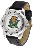 Marshall Thundering Herd  Sport Leather Watch White Dial (Men's or Women's)