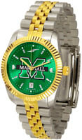 Marshall Thundering Herd  Executive  2-Tone 23k Gold AnoChrome Stainless Steel Watch (Men's or Women's)