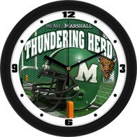 Marshall Thundering Herd  12 Inch Round Wall Clock