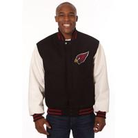 *Arizona Cardinals Heavyweight Leather and Wool Jacket