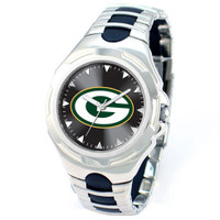 *Green Bay Packers NFL Men's Game Time NFL Victory Series Watch