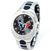 *Houston Texans NFL Men's Game Time NFL Victory Series Watch