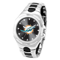 *Miami Dolphins NFL Men's Game Time NFL Victory Series Watch