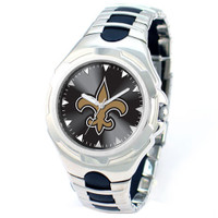 *New Orleans Saints NFL Men's Game Time NFL Victory Series Watch
