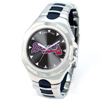 *Atlanta Braves MLB Men's Game Time MLB Victory Series Watch